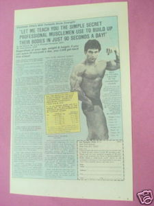 1979 Bodybuilding Ad Joe Nazario Mr. U.S.A. Physique