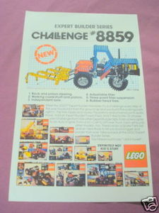 1981 Color Ad Lego Expert Builder Series