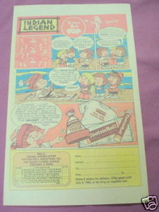 1982 Ad Tootsie Roll Pop Beach Towel, Hat, T-Shirt