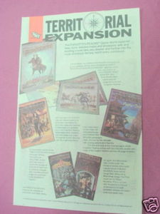 1988 Ad TSR Forgotten Realms Expansion Sets AD&D
