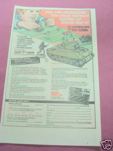 1985 Ad World War II War Games by Model Expo