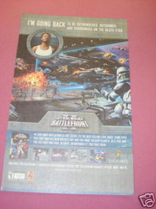 2005 Ad Star Wars Battlefront II Video Game