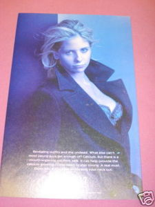 1998 Ad Sarah Michelle Gellar Got Milk?