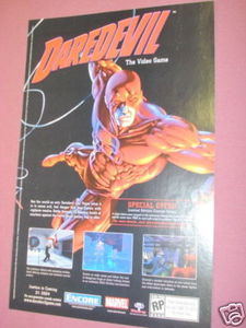 2004 Ad Daredevil The Video Game