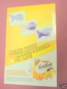 2007 Ad Pepperidge Farm Goldfish with Finn