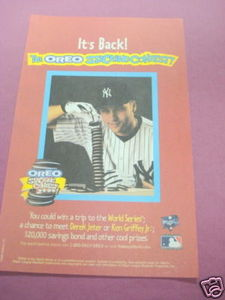 2000 Oreos Ad Oreo Stacking Contest 2 With Derek Jeter