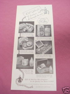 1941 Old Spice Sets Ad Shulton, Inc.
