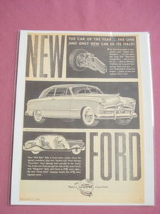 1948 Ford Forty-Niner Ad The Car of the Year