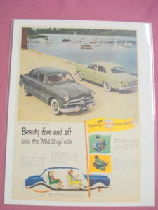 1949 Ford Ad Beauty Fore and Aft plus the Mid Ship Ride