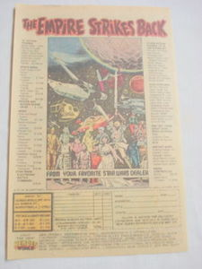 1980 Ad The Empire Strikes Back Toys Star Wars