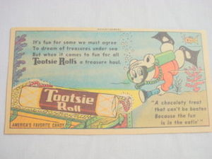 1958 Ad Tootsie Rolls A Chocolaty Treat
