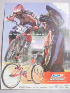 2001 Ad Redline Bicycles Featuring Proline Team Cruiser