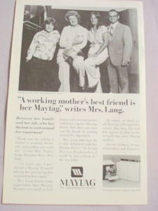 1981 Ad The Maytag Washer, Newton, Iowa