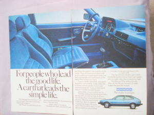 1981 Ad Honda Accord LX