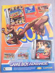 2002 Ad Super Street Fighter II & Final Fight One