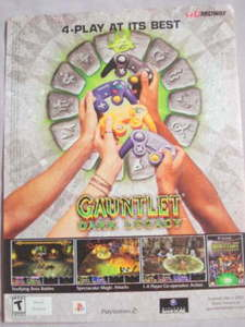 2002 Ad Video Game Gauntlet Dark Legacy