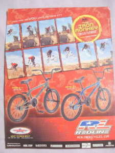 2002 Ad Redline Bicycles Featuring Adam Strieby