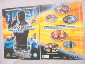 2002 Ad Video Game 007 Agent Under Fire