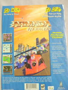 2000 Ad Video Game Armada F/X Racers