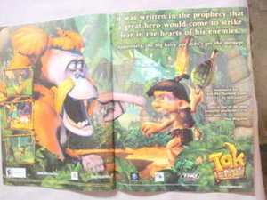 2003 Ad Video Game Tak and the Power of Juju
