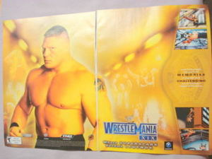 2003 Ad Video Game WWE Wrestlemania XIX