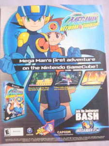 2003 Ad Video Game Megaman Network Transmission