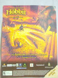 2003 Ad Video Game The Hobbit Interactive Game