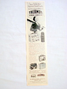1957 Ad American Thermos Products, Norwich, Ct.