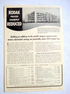 1939 Kodak Ad Building An Addition