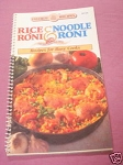 Rice A Roni & Noodle Roni Recipes For Busy Cooks 1994