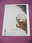 1967 Ad Noilly Prat Extra Dry The Couth Vermouth