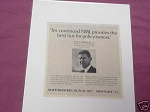 1967 NML Ad Northwestern Mutual Life Provides Best Buy