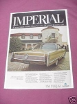 1967 Chrysler Ad 1968 Chrysler Imperial