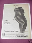 1967 Freeman Free-Flex Shoes Ad Beloit, Wisconsin