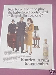 1967 Ronrico Puerto Rico Rum Ad A Rum to Remember