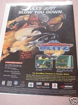 1999 Ad NFL Blitz 2000 Video Game Midway