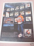 1999 Ad NHL FaceOff 2000 Video Game 989 Sports