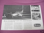 1967 Beechcraft Queen Air Ad Beech Aircraft Corporation
