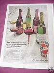 1967 Taylor Champagne Ad We Uncomplicate Wine