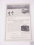 1925 Cine'-Kodak Model B Camera Ad Eastman Kodak Co.