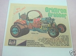 1971 Ad MPC Gridiron Grabber Model Kit