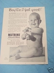 1945 South Africa Ad Nutrine Baby Food