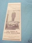 1945 South Africa Ad Tiger Trading Co. Men's Clothing
