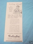 1945 South Africa Ad Calsuba Soluble Lime Food