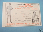 1945 South Africa Ad Kretzmer's Underwear Mfg. Co.