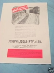 1945 South Africa Ad Joseph Liddle LTD. Insurance