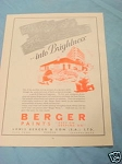 1945 South Africa Ad Berger Paints Lewis Berger & Son
