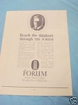 1945 South Africa Ad The Forum Weekly News Magazine