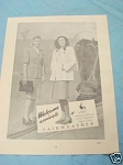 1945 South Africa Ad Fairweather Linen Costumes