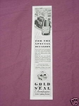 1941 Gold Seal Champagne New York State Ad Urbana Wine